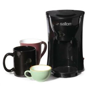 "Salton Space Saving 1 Cup Coffee Maker in Box w/warranty ""Buy from a Store@14.99 $ - Very Ideal for Home & Work"