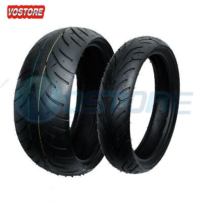 Front Rear Motorcycle Tires Set 190/50-17 & 120/70-17 190 50 17 and 120 70 17
