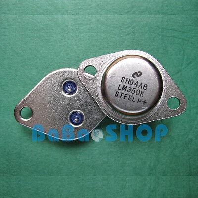 10pcs Lm350k Lm350 Insulating Silicone Pad 3a Adjustable Voltage Regulator Ns
