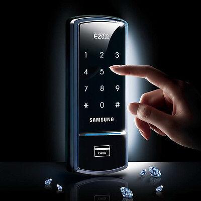 Samsung SHS-1321 Digital Door Rim Lock + 2 KeyTags + Englis