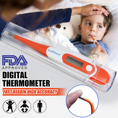 Digital Thermometer for Rectal Oral Axillary Underarm Body Children Temperature