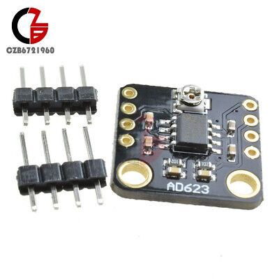 Ad623 Programmable Gain Digital Potentiometer Instrumentation Amplifier Module