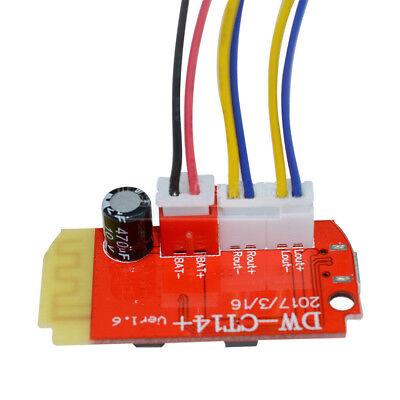 Dual 3W 3.7-5V Mono Digital Amplifier Board Module Bluetooth Speaker DIY US