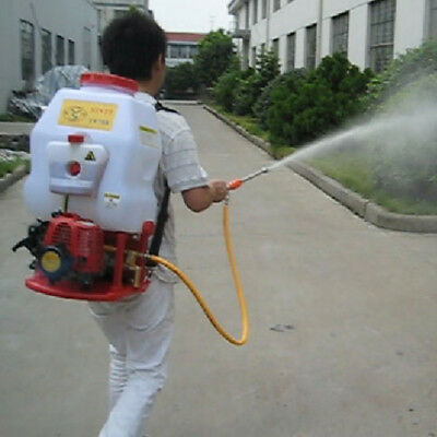 - Agricultural Mist Duster Sprayer Gasoline Powered Knapsack Backpack Garden 20(L)