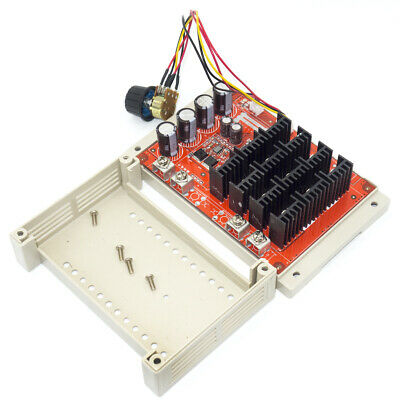 60a Dc Motor Speed Control Pwm Controller 12v 24v 36v 48v 3000w W Case