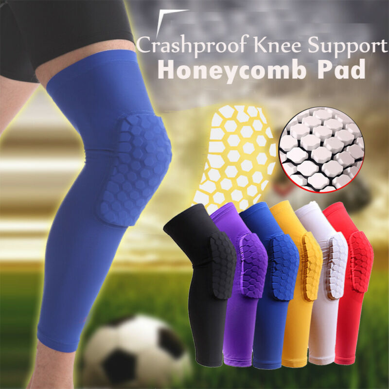Pad Honeycomb Leg Support Knee Sleeve Braces Sports Support
