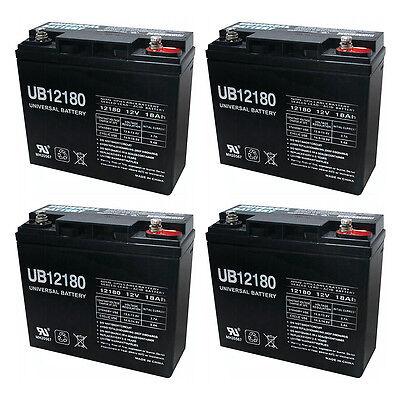 The Upgrade Group Ub12180 12v 18ah Internal Thread Batter...