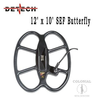 """Detech 12 x 10"""" DD Waterproof SEF Butterfly Coil - Fisher F75, F70 - Patriot for sale  Plainfield"""