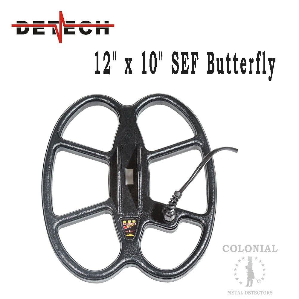 "Detech 12 x 10"" DD Waterproof SEF Butterfly Coil - Fisher F75, F70 - Patriot"