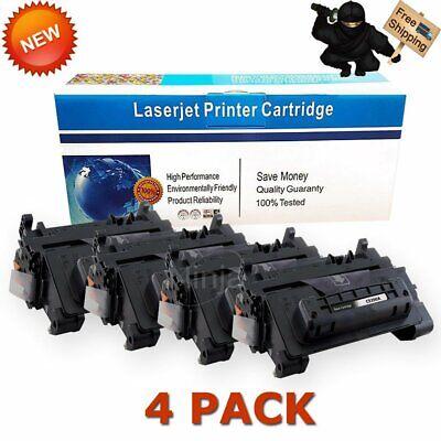 4PK CE390A Toner Cartridges For HP 90A Laserjet Enterprise 600 M601 M602 M603