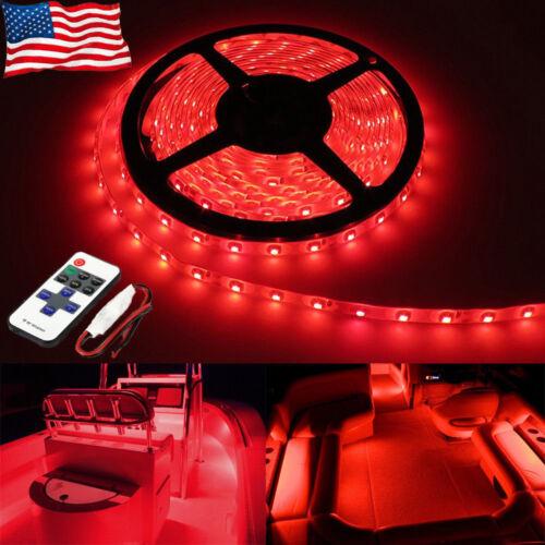 LED Boat Light Deck Red Waterproof 12v Bow Trailer Pontoon Lights Kit Marine