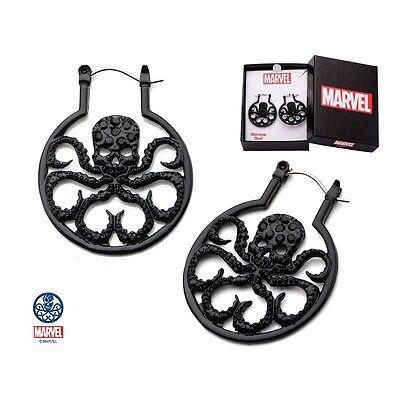 Marvel Hydra Edelstahl Earrings Ohrringe Ohrschmuck Avengers Comics