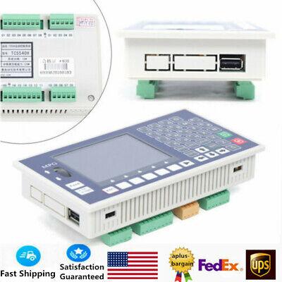 Lcd 4 Axis Cnc Motion Controller System Tc55h Offline Servo Stepper 400khz Usb