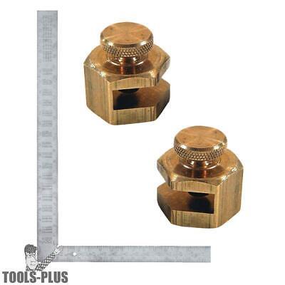 Brass Stair Gauge Aluminum Framing Square Kit Empire 105 1140 New
