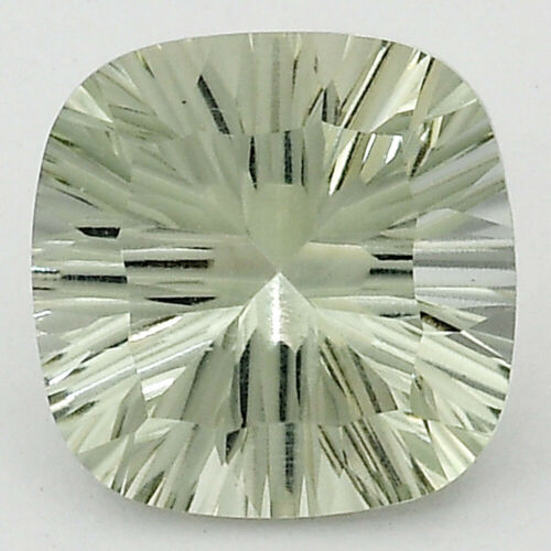Natural Prasiolite (Green Amethyst) 12x12 mm Loose Gemstone 10 Pcs Lot CLGS01551