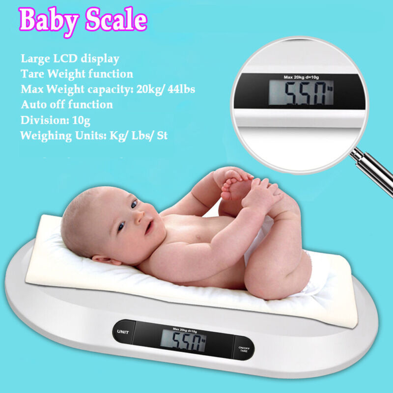 Digital and Electronic Baby Pet Scale for Infant Animal Body Weight Scale 20kg