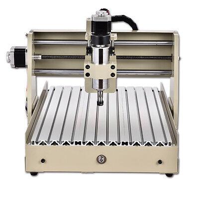 400w 4 Axis 3040 Router Desktop 3d Engraver Engraving Carving Milling Machine