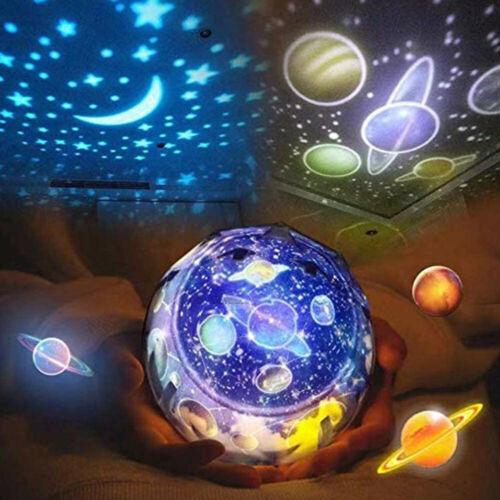 Magic Diamonds Projection Lamp Star Universe Night Light Colorful Magic Lighting Home & Garden