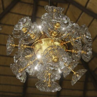 Araña de Cristal Lámpara Techo Colgante Elite Bohemia Flor Nueva