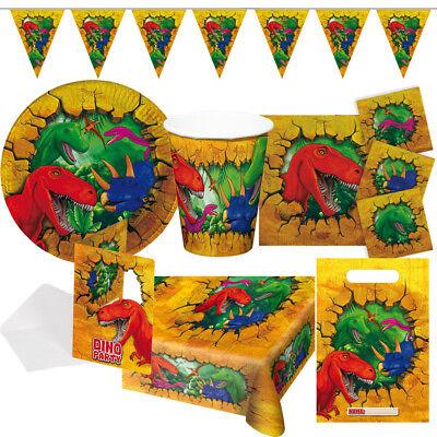 Dino T-Rex Dinosaurier Kindergeburtstag Auswahl Deko Party Dekoration Geburtstag
