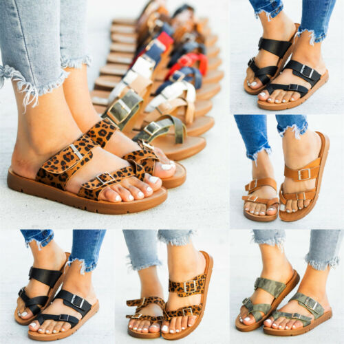 Womens Summer Beach Flip Flops Sandals Shoes Ladies Flat Ind