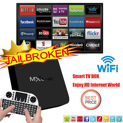 2017 NEW MXQ-4K Pro  Smart Android TV BOX Mega 16.1 Media Streaming Media Player