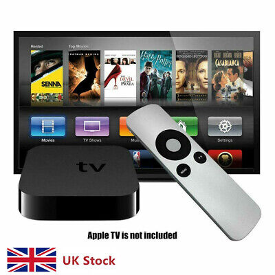 TV Remote Control For Apple TV3 TV2 TV All Gen Channel Access Fit UK