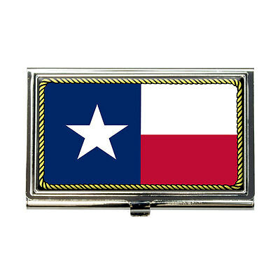 Texas State Flag Business Credit Card Holder Case
