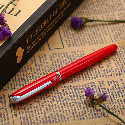 Picasso 916 Malage Fountain Pen Elegant Pen Extra Fine Nib 0.38mm Red