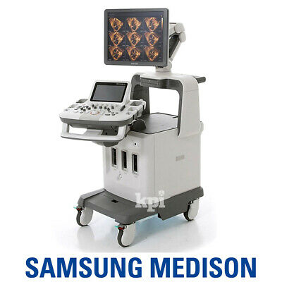 4d Medison Accuvix Xg Ultrasound - Samsung System Machine With 4d3d Convex