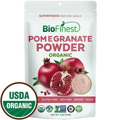 Biofinest Pomegranate Juice Powder - 100% Pure Freeze-Dried Antioxidants...