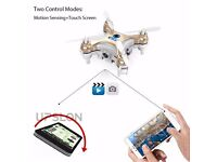 cheerson cx-10w wifi with camera FPV altitude hold gyro mini drone