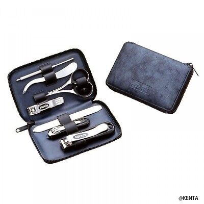 Seki Edge Adonis 7 PieceS Grooming Kit G-3022 Nail care Set