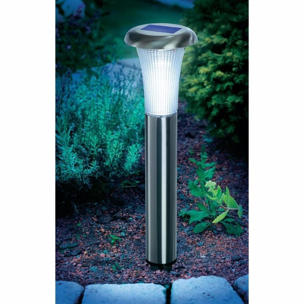 4x led solarlampe solar leuchte lampe gartenlampe akku. Black Bedroom Furniture Sets. Home Design Ideas