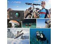 GoPro Killer - EKEN H9R Sports Action Camera 4K Ultra HD 2.4G Remote WiFi 170 Degree Wide Angle