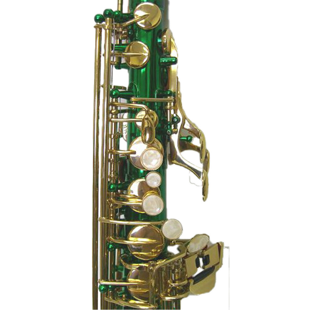 """HOLIDAY SALE! """"Sky"""" Green Alto Saxophone w Backpackable ..."""