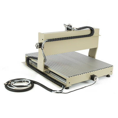 Usb 4 Axis 6090 Cnc Router Engraving Milling Drill Engraver 1500w Vfd 3d Cutter
