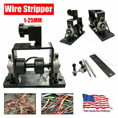 Manual Wire Stripping Cable Peeling Machine Scrap Stripper Metal Recycle Tool Us