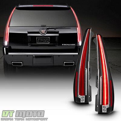 Upgrade Design For 2007-2014 Cadillac Escalade ESV LED Tail Lights Brake Lamps