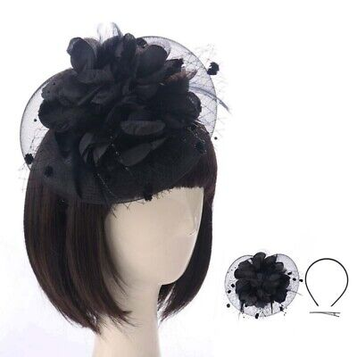 Headband Aliceband Hat Large Fascinator Weddings Ladies Day Race Royal Ascot