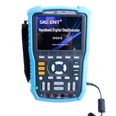 New Shs810 Handheld Digital Siglent Oscilloscope 2-channel 100mhz 1gsas 2m 5.7