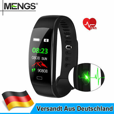 Smartwatch Smart Armband Fitness Tracker Pulsuhr Blutdruck Uhr Wasserdicht IP68
