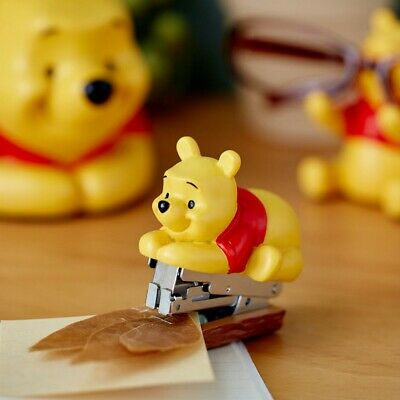 Disney Winnie The Pooh Mascot Stapler Stationery Kawaii From Japan Gift E7054