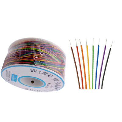 B-30-1000 8 Wire 280m Wrapping Cable 30 Awg Breadboard Jumper Colored Insulation