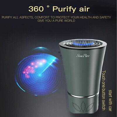 mini portable desktop car air purifier cleaner