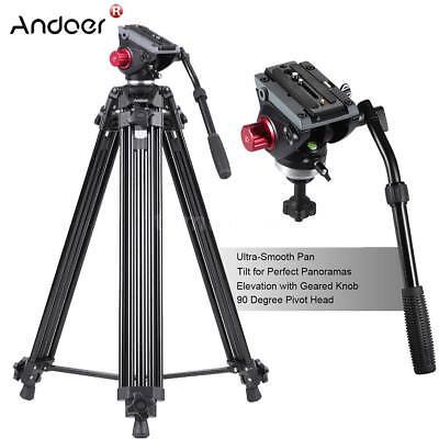 "Andoer Heavy Duty 72"" inch DV Video Camera Tripod Stand Flui"