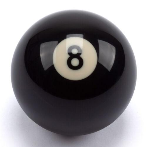 """2-1/4"""" Billiard #8 Pool Ball Replacement EIGHT BALL Standard Regulation Size"""