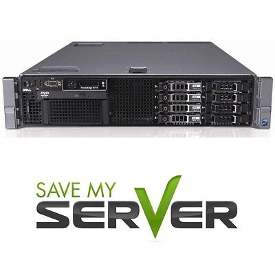 Dell PowerEdge R710 8-Core 2.5