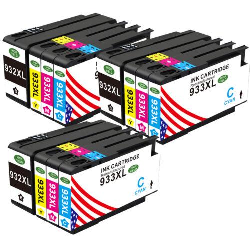 4-20PK 932XL 933XL Ink Cartridge For HP OfficeJet 6100 6700 6600 7610 7612 LOT