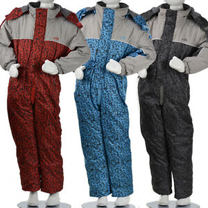 schneeanzug kinder winter overall skianzug winteranzug skioverall 98 128 never ebay. Black Bedroom Furniture Sets. Home Design Ideas